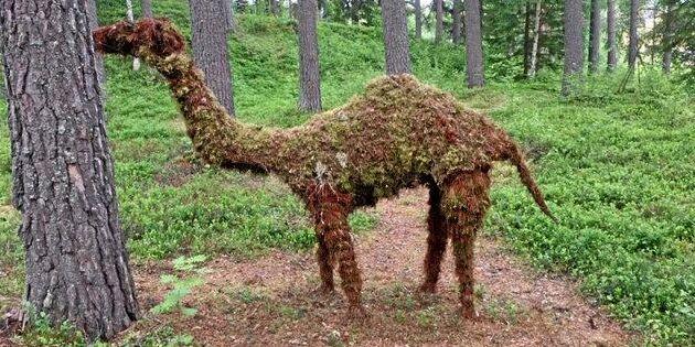 Dra åt Hälsingland, vilket konst(igt) djur