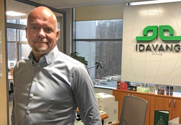 BILDSPEL. Idavang har många olika säkerhetsåtgärder för att motverka ett tredje utbrott av ASF. Claus Baltsersen är VD för Idavang Group som producerar sammanlagt 800 000 slaktgrisar per år i Litauen och Ryssland.