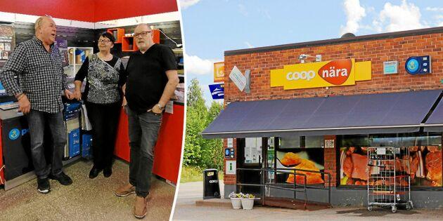 Coop stängde enda butiken – nu har hela byn startat en egen!