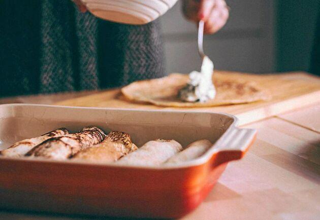 Franska crêpes innehåller massvis med gott.