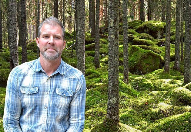 Erik Hjärtfors, skogsägare och träförädlare