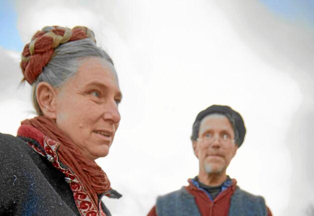 Torkan i somras innebar ett hårt slag för Marie och Gustav Mandelmann.
