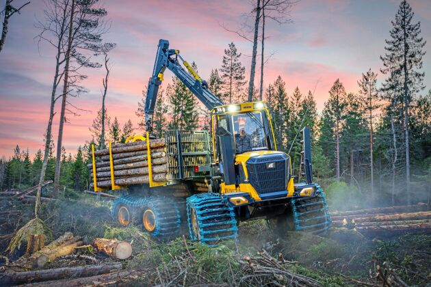 Eco Logs F-serie hade premiär i februari.