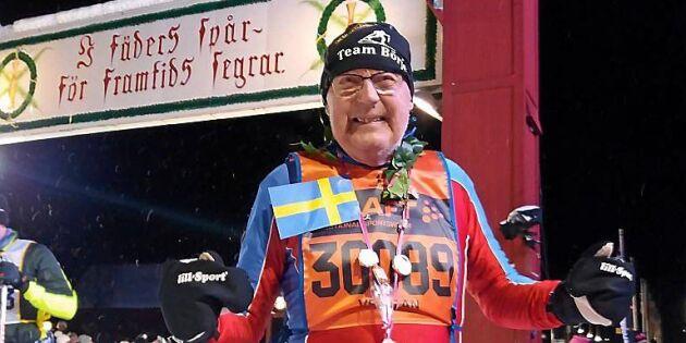Börje, 85, går för rekord – ska fullfölja sitt 60:e Vasalopp