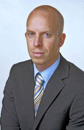 Fredrik Luhr, jägmästare och VD på Areal i Stockholm.