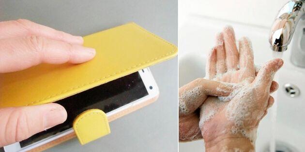 Din mobil kan vara snuskigare än toaletten