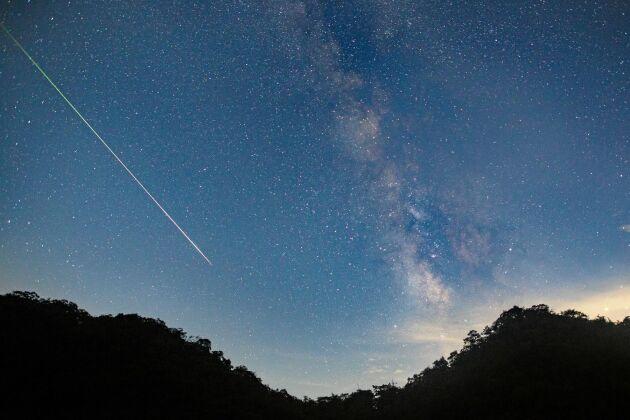Natten till den 7 maj 2019 finns chans att se ett meteorregn. Bilden är en genrebild.