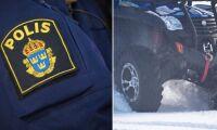 Polisen fångade fyrhjulingstjuvar