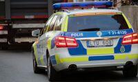 Lasten nästan två ton för tung –stoppades av polis