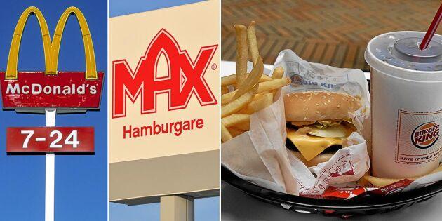 Härifrån kommer maten på hamburgerrestaurangerna