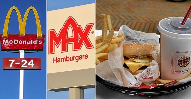Varifrån kommer egentligen innehållet i hamburgarna från de fyra största hamburgerkedjorna?