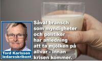 Tappa inte den svenska mjölken