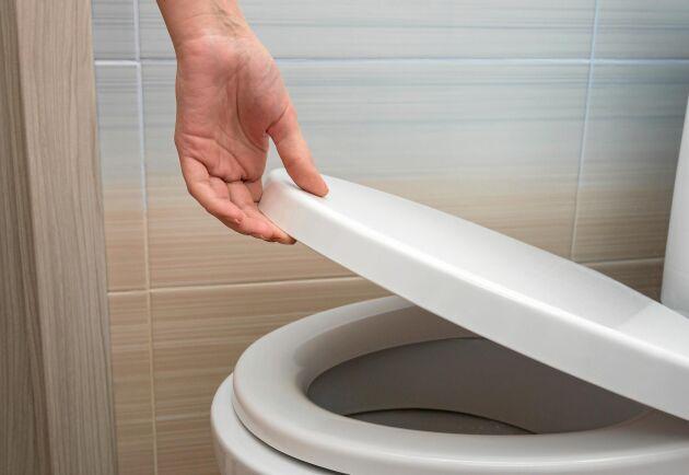 God hygien på toaletten har aldrig varit viktigare. En regel du aldrig ska tumma på är att stänga toalocket när du spolar.