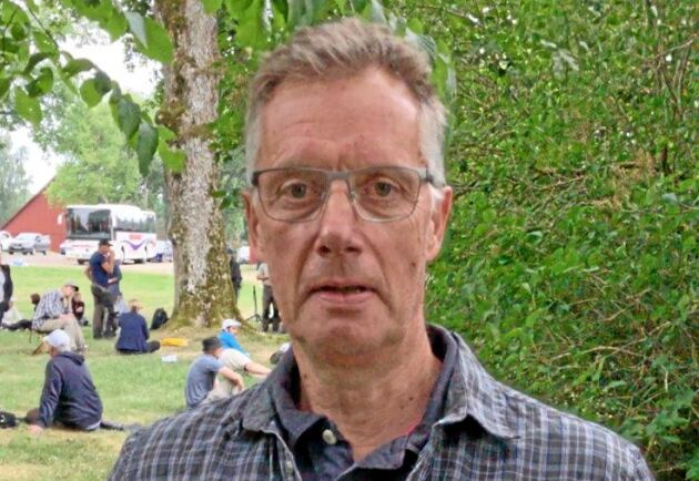 """""""Skogsbruket talar mycket om att öka produktionen. Att bevara produktionen vore ett bra första steg"""", säger Urban Nilsson."""