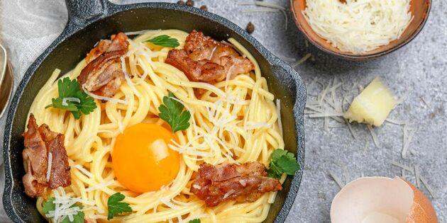 Spaning: Västerbotten till pastan – i stället för parmesan
