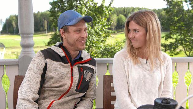 """Pelle Hansson Edh och Karin Nordström hittade kärleken i TV4:s """"Bonde söker fru"""" 2019."""