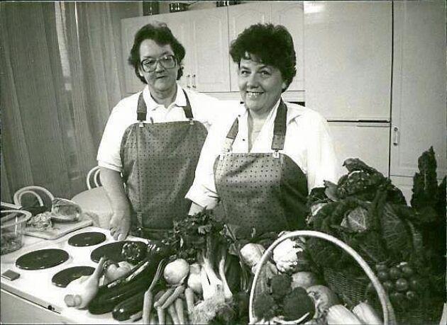 Monica Hörners och Marit Paulsens matlagningskonster blev populära program i SVT.