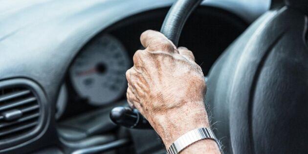Transportstyrelsen vill ställa hårdare krav på äldre bilförare