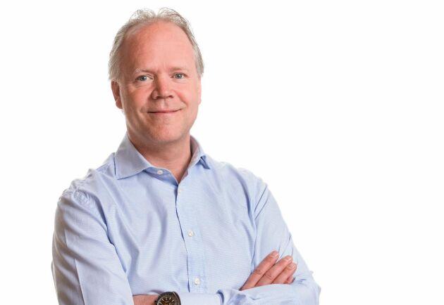 Stefan Lindbäck, VD Lindbäcks bygg, välkomnar fler aktörer som bygger industriellt på höjden.