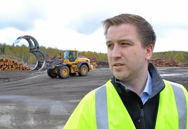 """""""Vad ska svensk skogsnäring vara duktiga på? Framför allt kvalitet, det är så vi utmärker oss mot resten av världen"""", säger Erik Karlsson."""