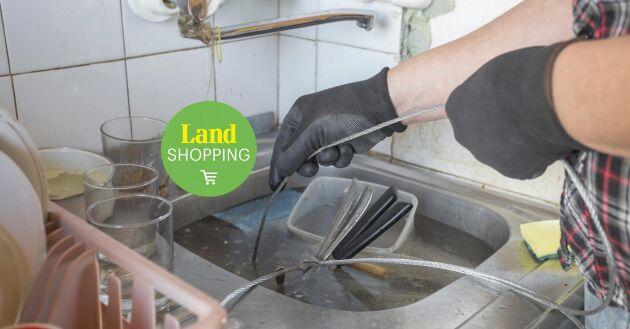 Gör det själv. Med ett rensband så fixar du stoppet i vasken utan att behöva ringa rörmokare.