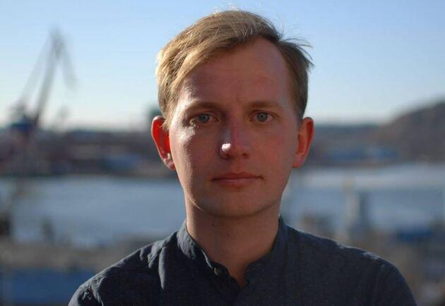 Marcus Nilsen, ordförande Liberala Ungdomsförbundet Väst.