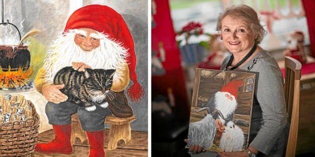 Kerstin är konstnären bakom julens mest älskade tomtar!