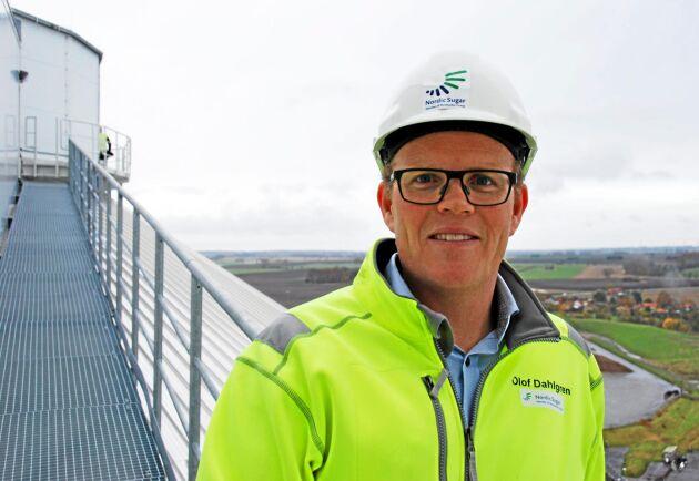 Olof Dahlgren, fabrikschef vid sockerbruket i Örtofta.