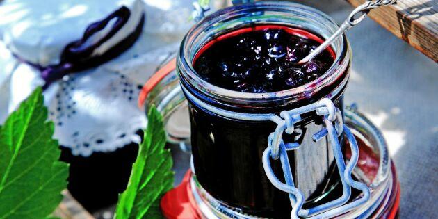 Laga lyxigt god svartvinbärssylt – superenkelt recept!