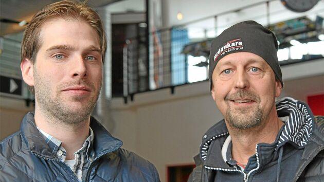 Entreprenörerna Erik Odén och Bengt Adolfsson har gått in som ägare med ambitionen att driva jordbruket vidare tillsammans med den tidigare ägaren.