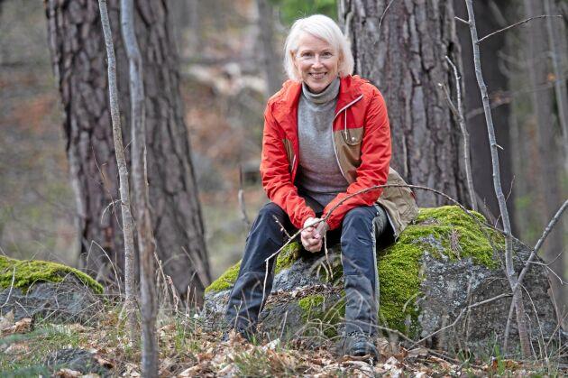 Kerstin Dafström, ordförande i Spillkråkan, skogsägare
