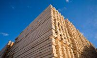 Positivt läge för trävaror