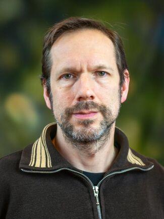 Daniel Noreland, forskare på Skogforsk.