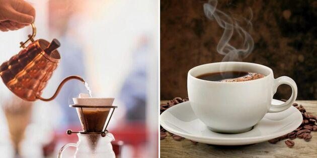 Brygg kaffet för hand – 6 tips för en riktigt god kopp!