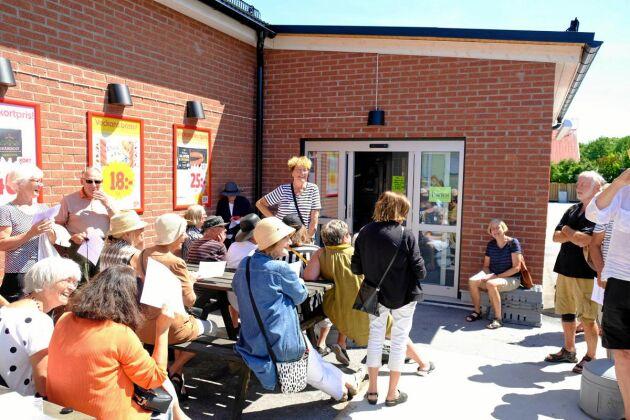 Klimatdemonstrationerna startades i Burgsvik på Gotland. Nu sprider sig Gretas gamlingar till fler platser i landet.
