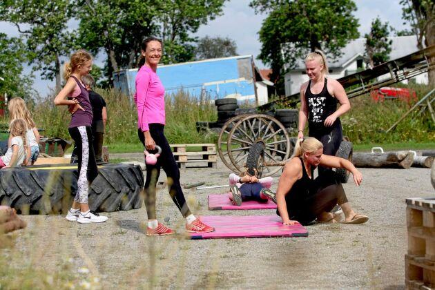 Att träna tillsammans med andra är lite extra peppande.