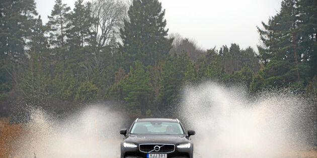 Volvo V90 CC - en kombi för friluftsälskaren