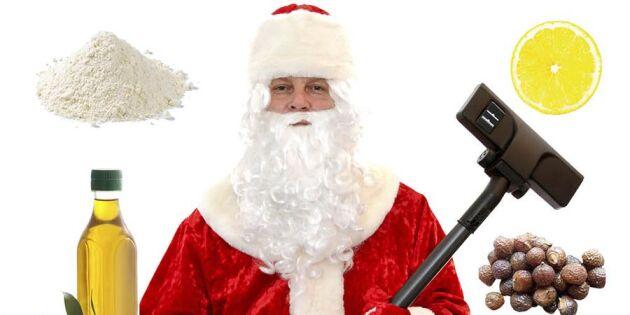 Så julstädar du med rent samvete – 5 miljövänliga tips