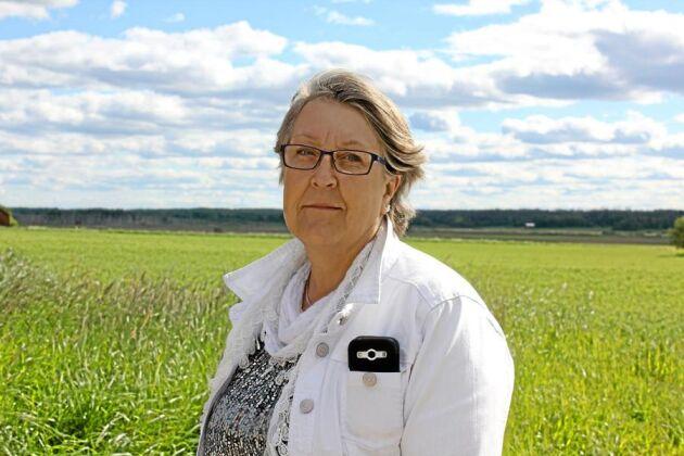 """Sammanhållning. Skogsbranden i augusti förra året har också samlat ihop bygden, berättar Elisabet Pettersson, ordförande i Fläckebo-Färnebo LRF-avdelning. """"Vi har varit med om något tillsammans."""""""