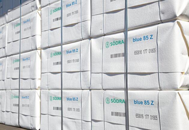Rekordpriser och gynnsamma valutakurser innebar att Sveriges exportintäkter från pappersmassa ökade med 29 procent i fjol.