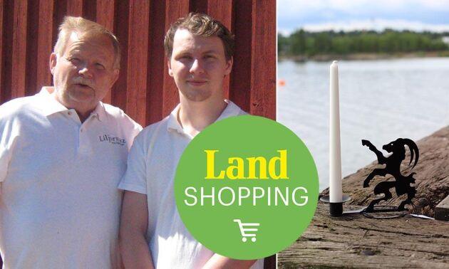 Morfar Bengt Lilja och barnbarnet Johan Lilja utvecklar verksamheten tillsammans.