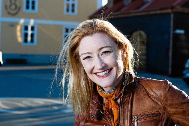 """Jennifer Buhrow, deltagare i """"Allt för Sverige"""" 2019."""