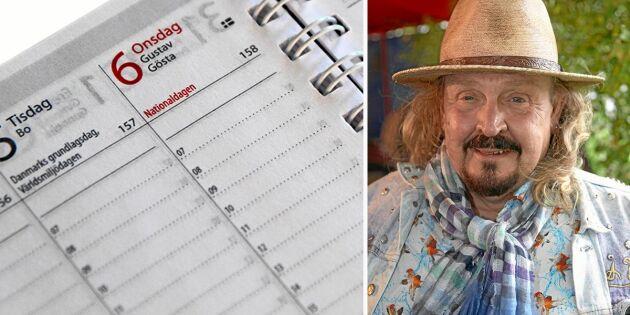 Här är de nya namnen i almanackan!