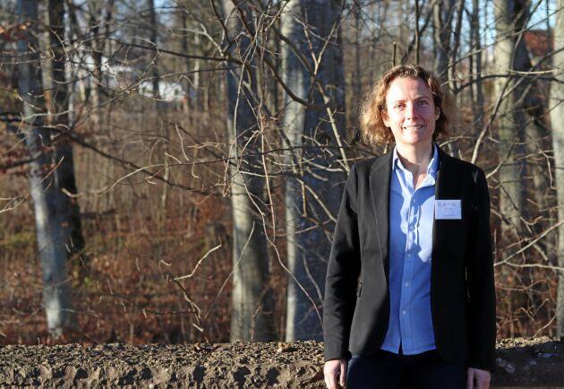 Sara Singla var en av talarna på Jordhälsokonferensen i Lundsbrunn.