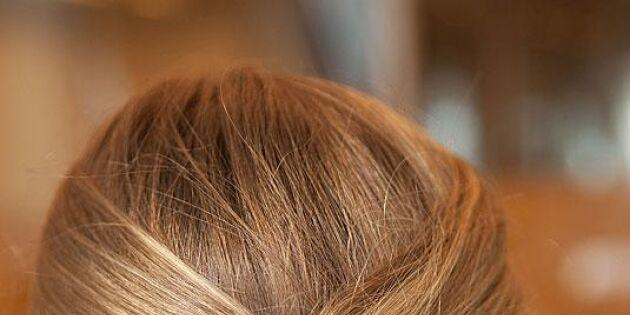 Enkel men snygg håruppsättning