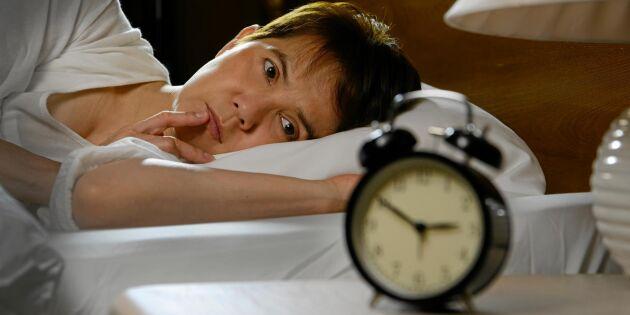 Så bryter du sömnpaniken och kan somna om – 4 smarta knep