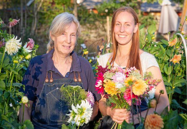 Mor och dotter Wendt, Cecilia och Lovisa, har hittat sitt kreativa drömyrke.