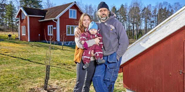 Följ med hem till Kalle & Brita Zackari Wahlström på bondgården!