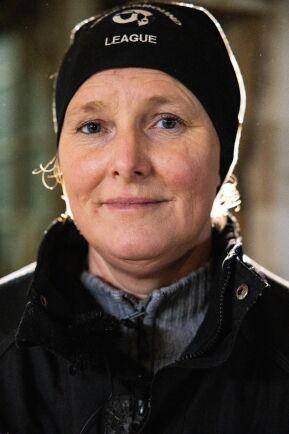 Mariette Östberg driver Lejeby Östergård tillsammans med sambon Christer Blomsterberg.