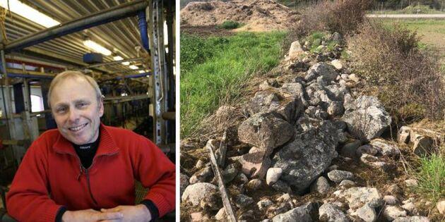 Stenmuren i Blekinge: Domstolen säger nej